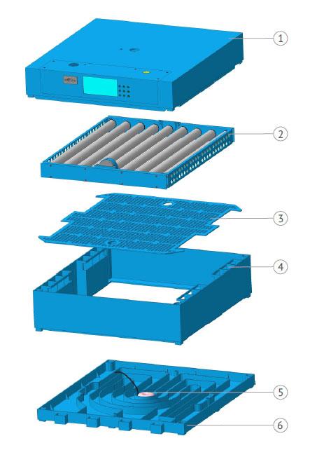 Схема автоматического инкубатора